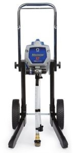 Graco Magnum 262805 X7 Cart Airless Paint Sprayer front side.