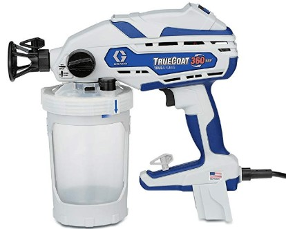 Graco handheld paint sprayer for painting 25 gallons per year