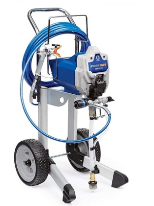 fast and easy clean graco airless paint sprayer