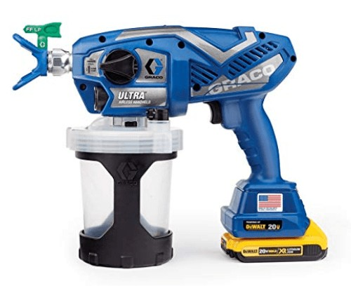graco small airless paint spray gun