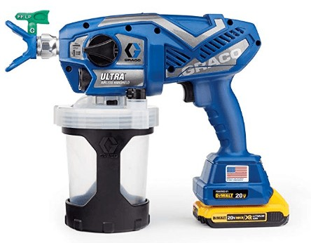 graco airless handheld sprayer for cabinet painting