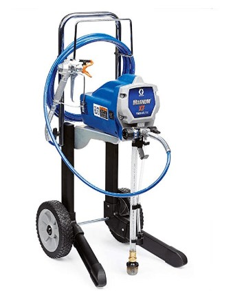 graco x7 cart airless paint sprayer with adjustable pressure
