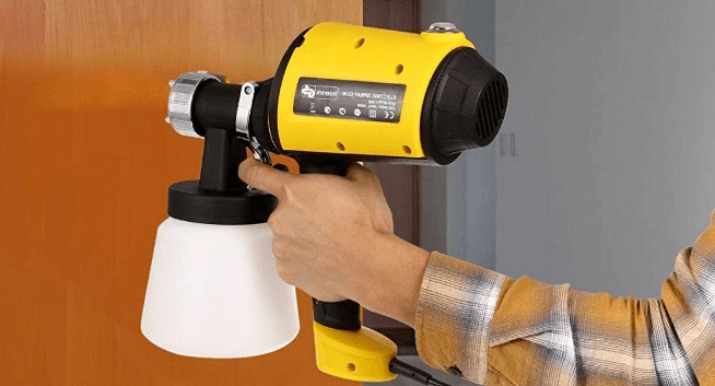 tips when using a portable paint sprayer