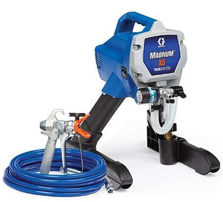Graco x5 airless paint sprayer for fast and easy-to-clean trim work