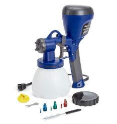 HomeRight paint sprayer for doors with less thinning paint