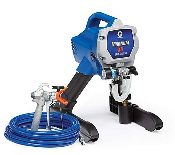 Graco x5 deck paint sprayer with easy and fast spray and clean