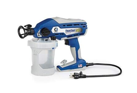 Graco sprayer set for painting decks