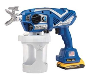 Graco TC pro battery operaterd airless paint sprayer