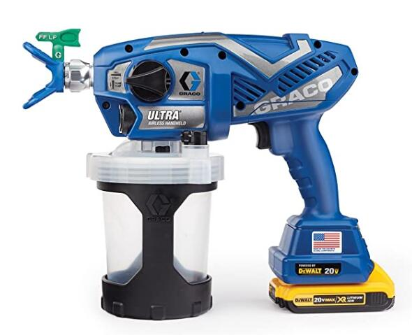 Graco battery powered paint sprayer