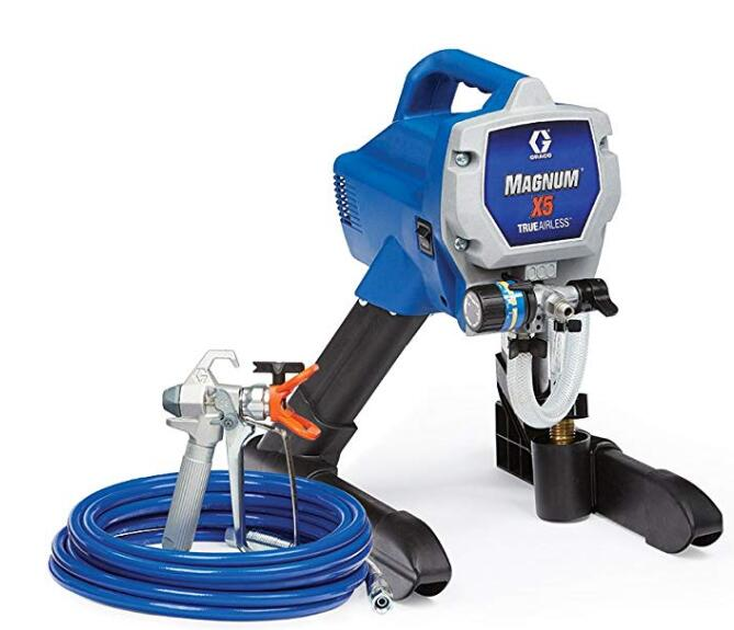 Graco x5 airless sprayer for interior wall