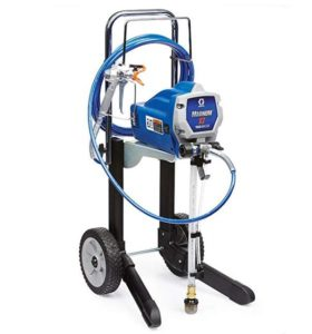 Graco x7 airless paint sprayer for interior trim