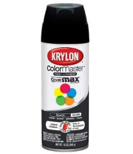 Krylon 12 oz gloss black auto paint review