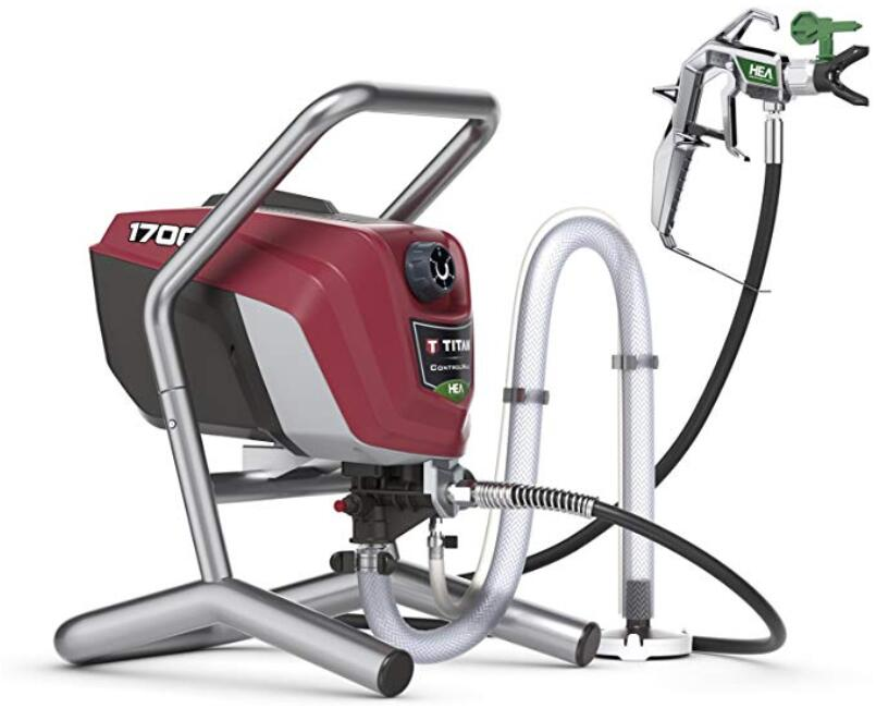 Titan airless paint sprayer for interior wall