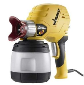 Wagner handheld airless paint sprayer for interior wall