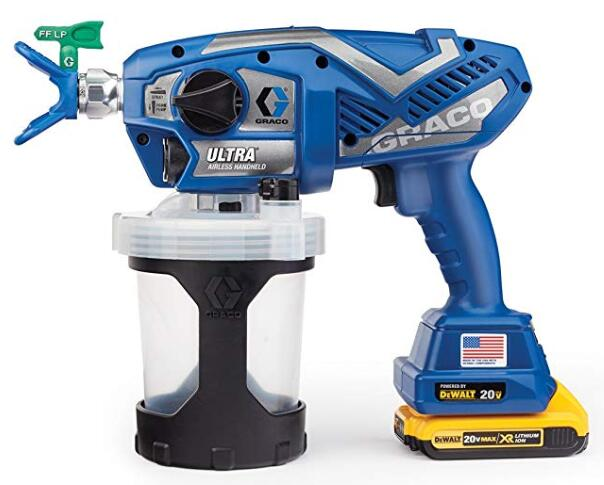 Graco cordless paint sprayer for interior wall