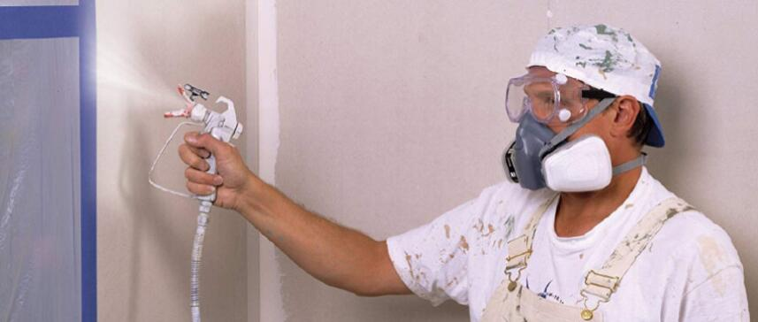 airless paint sprayer for interior walls