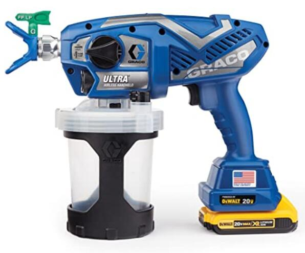 Graco cordless paint spray machine for walls