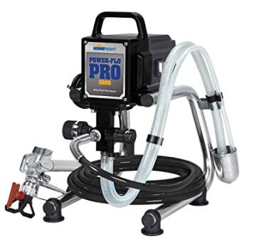 HomeRight airless paint sprayer for latex paint