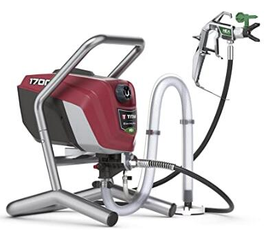 Titan Tool high efficiency airless paint sprayer for exterior