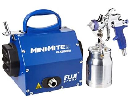 Fuji 2903-T70 Mini-Mite 3 PLATINUM HVLP paint sprayer for ceilings