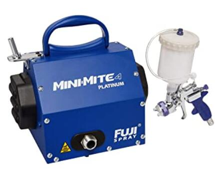 Fuji 2804-T75G Mini-Mite 4 PLATINUM paint sprayer for professional painting