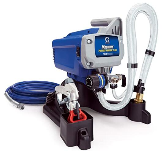 Graco Magnum airless paint sprayer for walls and ceilings