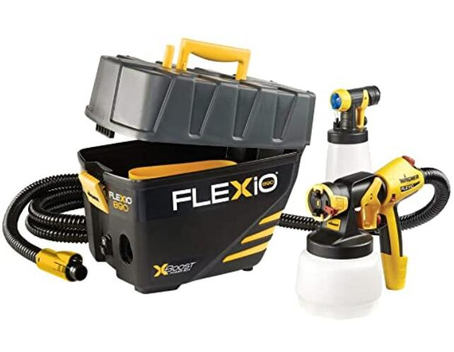 Wagner 0529021 FLEXiO 890 Stationary HVLP Paint Sprayer for All Needs