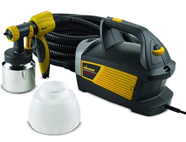 Wagner paint sprayer for commercial walls and ceiling painting