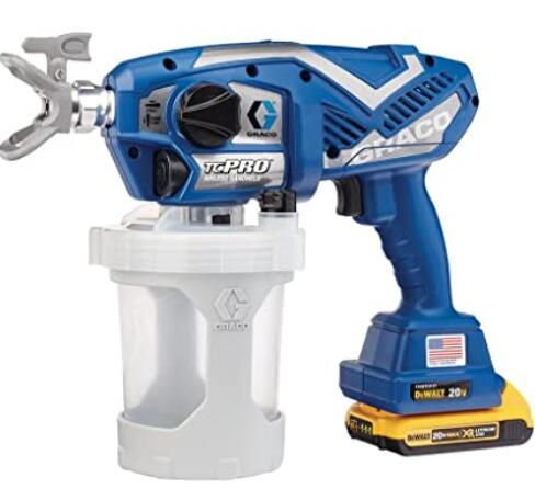 Graco TC Pro cordless airless walls and ceiling paint sprayer