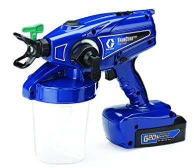 Graco cordless airless paint sprayer for craftsman