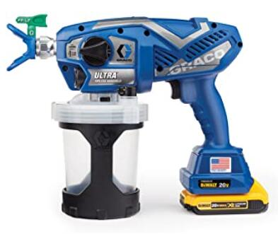 Graco portable airless paint sprayer for home use