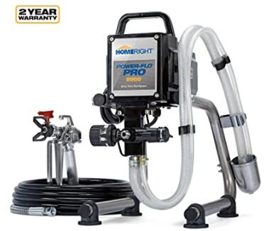 HomeRight Pro home airless paint sprayer for exterior