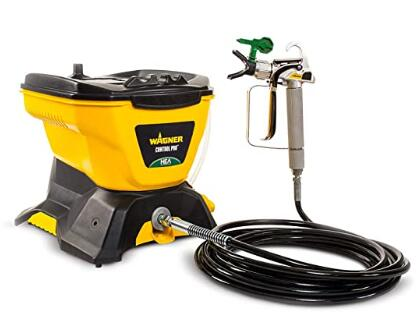 Wagner powerful airless paint sprayer with less overspray