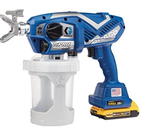 Graco TC Pro home airless paint sprayer with adjustable pressure