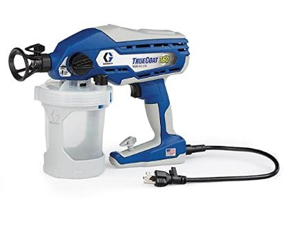 Graco TrueCoat small electric airless paint sprayer for home use