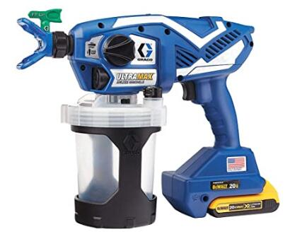 Graco Ultra Max 17M367 small airless paint sprayer for multi painting jobs