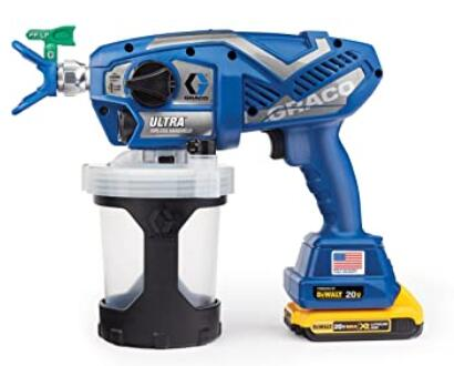Graco Ultra wireless airless sprayer for home use