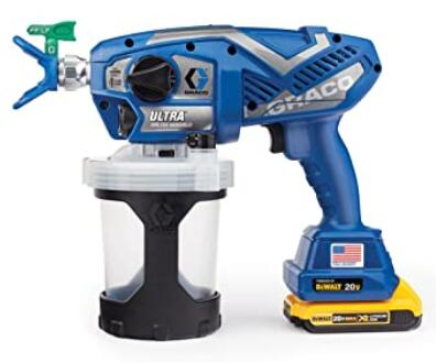 Graco small airless sprayer rechargeable