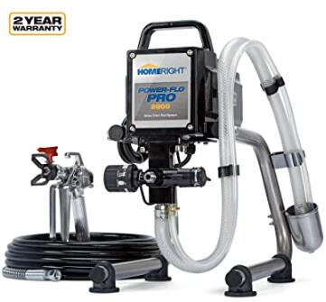 affordable HomeRight airless paint sprayer with high pressure