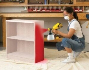 how to spray paint your cabinet with airless paint sprayers