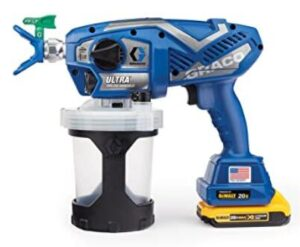Graco Ultra airless electric handheld spray gun for home painting