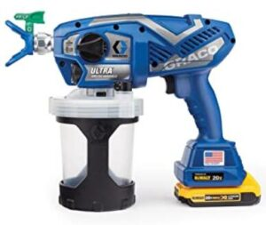 Graco professional cordless airless paint sprayer review