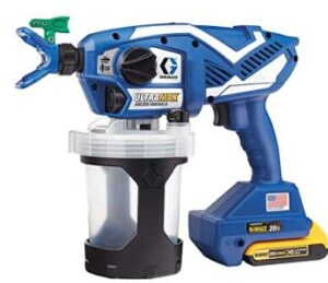 graco handheld airless paint sprayer without cord review
