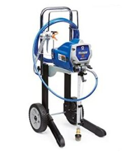 Graco portable airless paint sprayer with cart design
