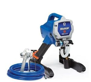 Graco magnum x5 stain sprayer with airless HEA technology