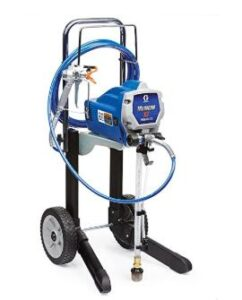 Graco magnum x7 airless stain sprayer for flexible movement