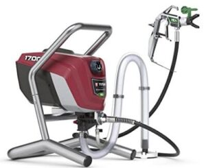 Titan Tool airless stain sprayer with less overspray