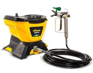 Wagner budget airless paint sprayer with long hose