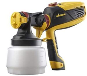 Wagner hanheld electric paint sprayer with adjustable flow