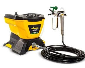 wagner control pro airless sprayer with handheld paint gun for furniture